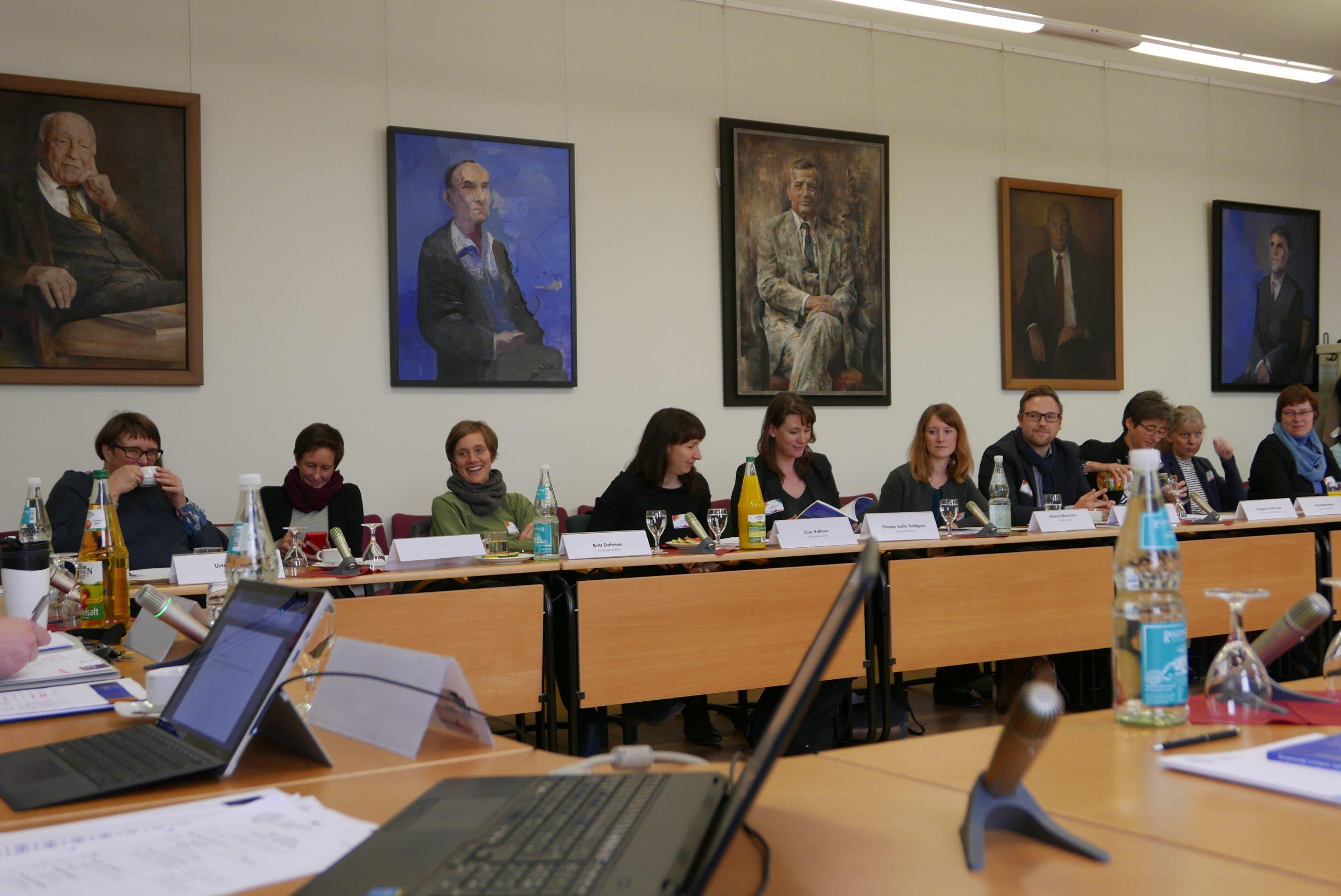Foto der Teilnehmenden in einem Workshop